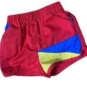 Vintage Oshkosh primary colors shorts